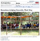 NYTimes Arts Section front page