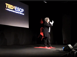 Filmmaker Anne Aghion speaks at TEDx in Paris