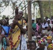 Gacaca trial in Rwanda